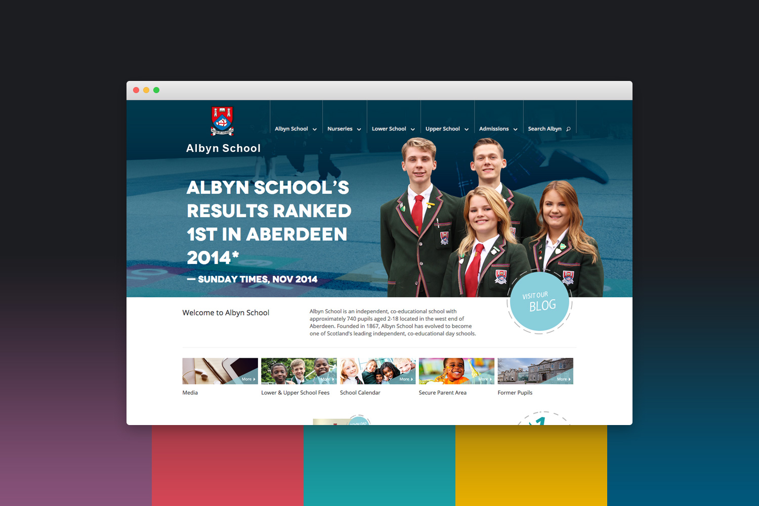 Albyn School Website