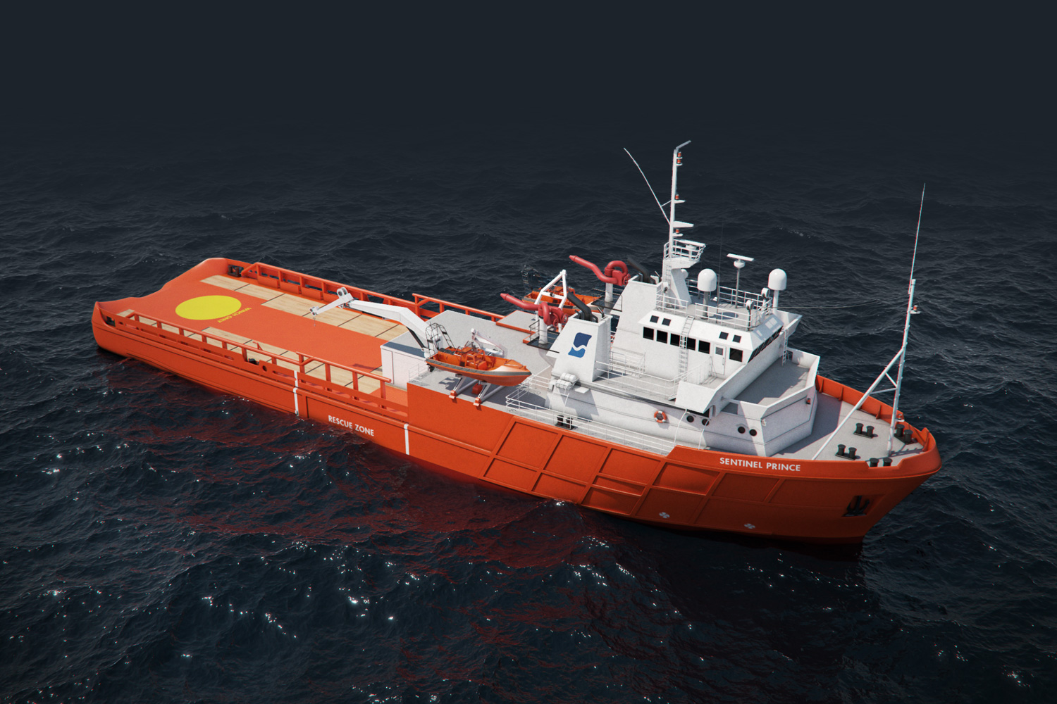 3D Image of Sentinel Marine Fleet