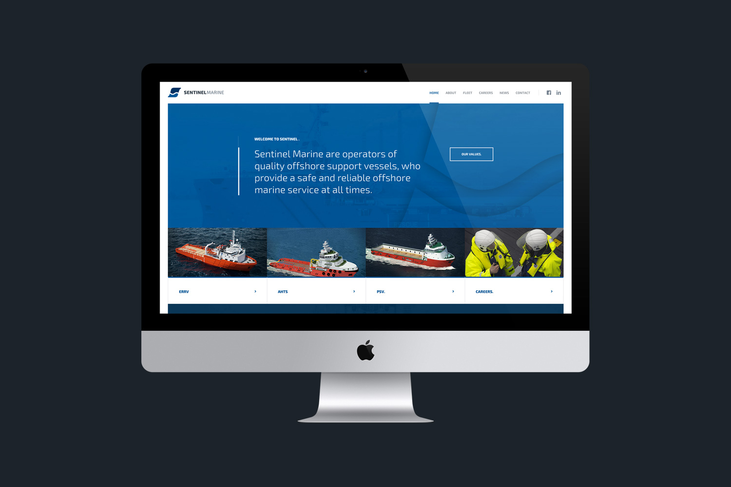 Sentinel Marine Website